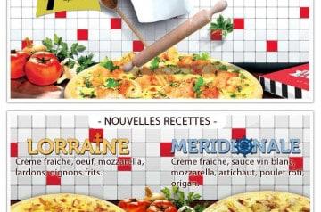 Trois nouvelles pizzas signées La Boîte à Pizza