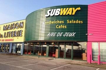 Trois Subway en février-mars