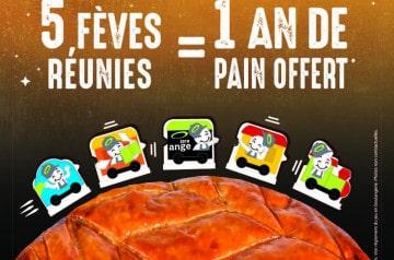 Un an de pains gratuits à Ange Boulangerie