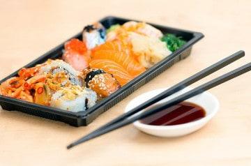 Un athlète trop gourmand banni d'un restaurant de sushis