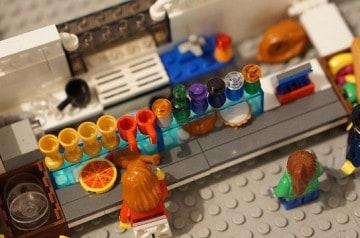 Un bar en Lego ouvrira à Londres