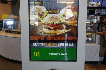 Un burger personnalisable chez Mc Donald's