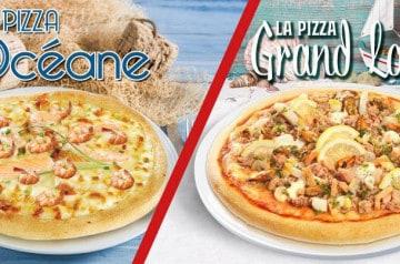 Un déjeuner gourmand avec La Boîte à Pizza