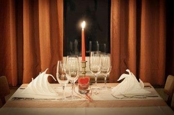 Un dîner romantique sur le thème d'Harry Potter