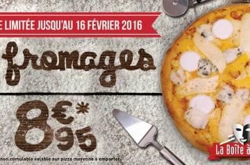 Un hiver gourmand avec La Boîte à Pizza