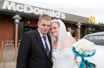 Un mariage au Mc Donald's