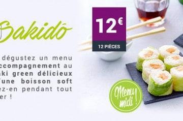 Un menu d'après-fêtes chez Eat Sushi