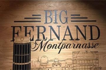 Un nouveau point de vente Big Fernand à Montparnasse