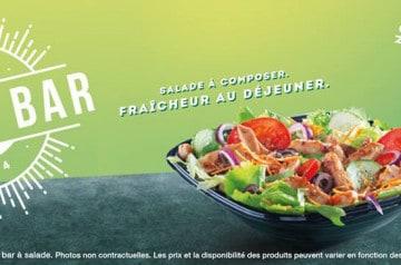 Un nouveau restaurant Subway ouvre à Paris