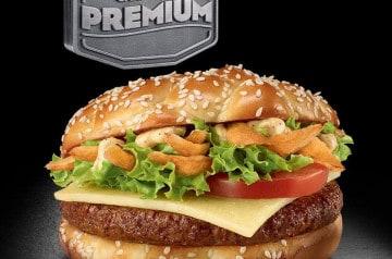 Un nouveau sandwich chez Mc Donald's
