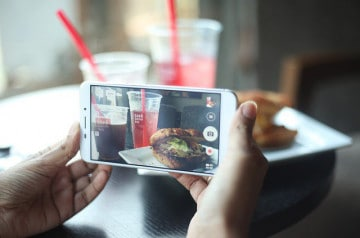 Un restaurant  propose un pack Instagram à ses clients