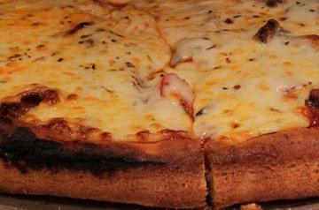 Une boîte à pizza en pizza, ça donne envie