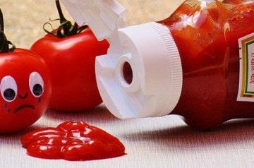 Une glace au ketchup en l'honneur d'Ed Sheeran