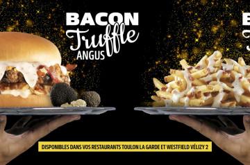 Une idée de festin : le burger à la truffe de Carl's Jr