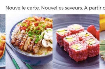 Une nouvelle carte automne-hiver pour Eat Sushi
