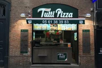 Une nouvelle salle de restauration pour Tutti Pizza Capitole