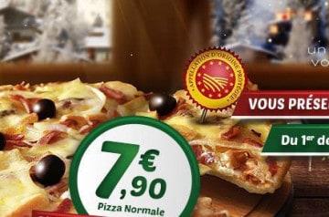Une pizza de chef chez Tutti Pizza