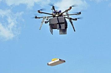 Une pizzéria russe livre par drone