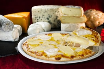 Une tempête de fromage à La Boîte à Pizza