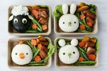Une touche artistique pour la pause-déjeuner des enfants