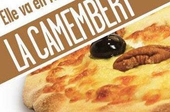 Voici comment Le Kiosque à Pizza sublime le camembert