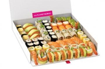 Vos repas en famille avec Planet Sushi