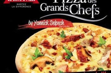 Yannick Delpech et La Boîte à Pizza
