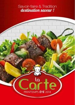 Menu La Boucherie - Carte et menu la boucherie