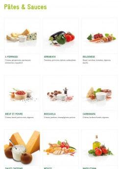 Menu Mezzo Di Pasta - Pâtes & Sauces