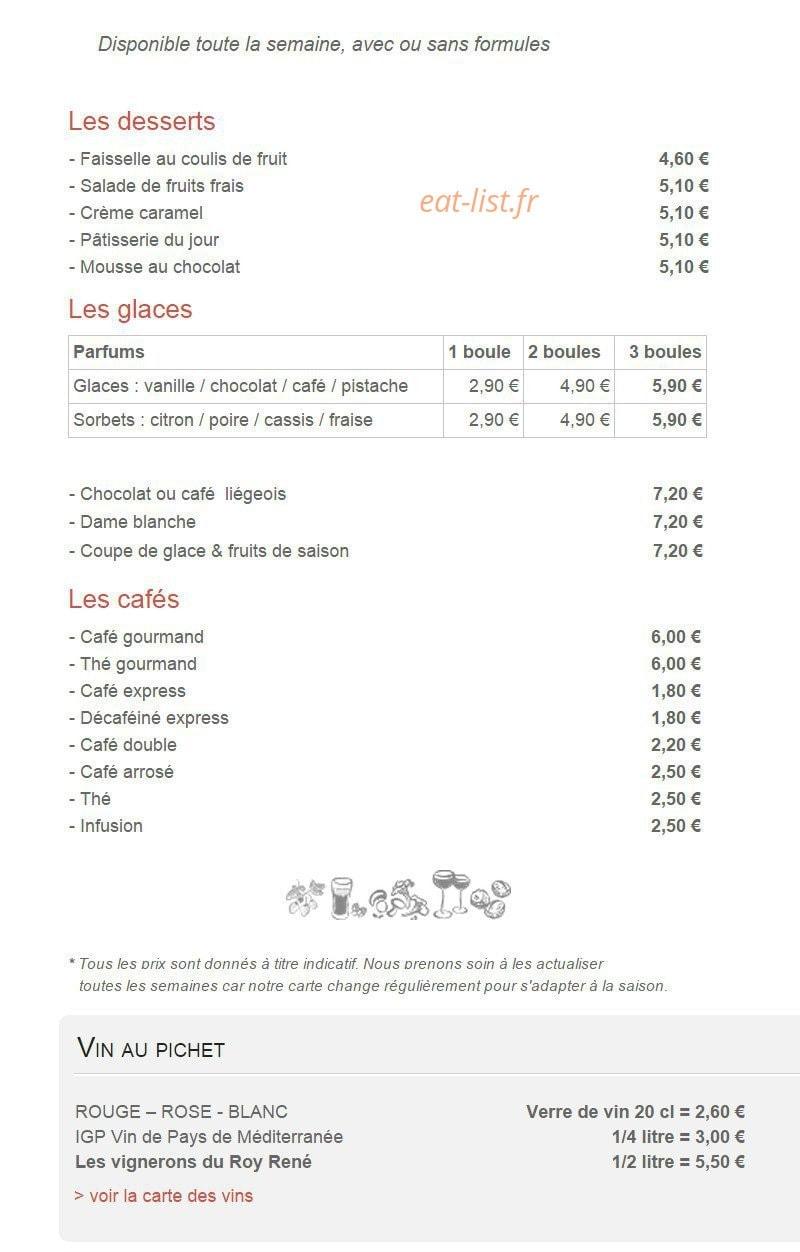 La Table De Chez Nous Lambesc la table de chez nous à lambesc, carte-menu et photos