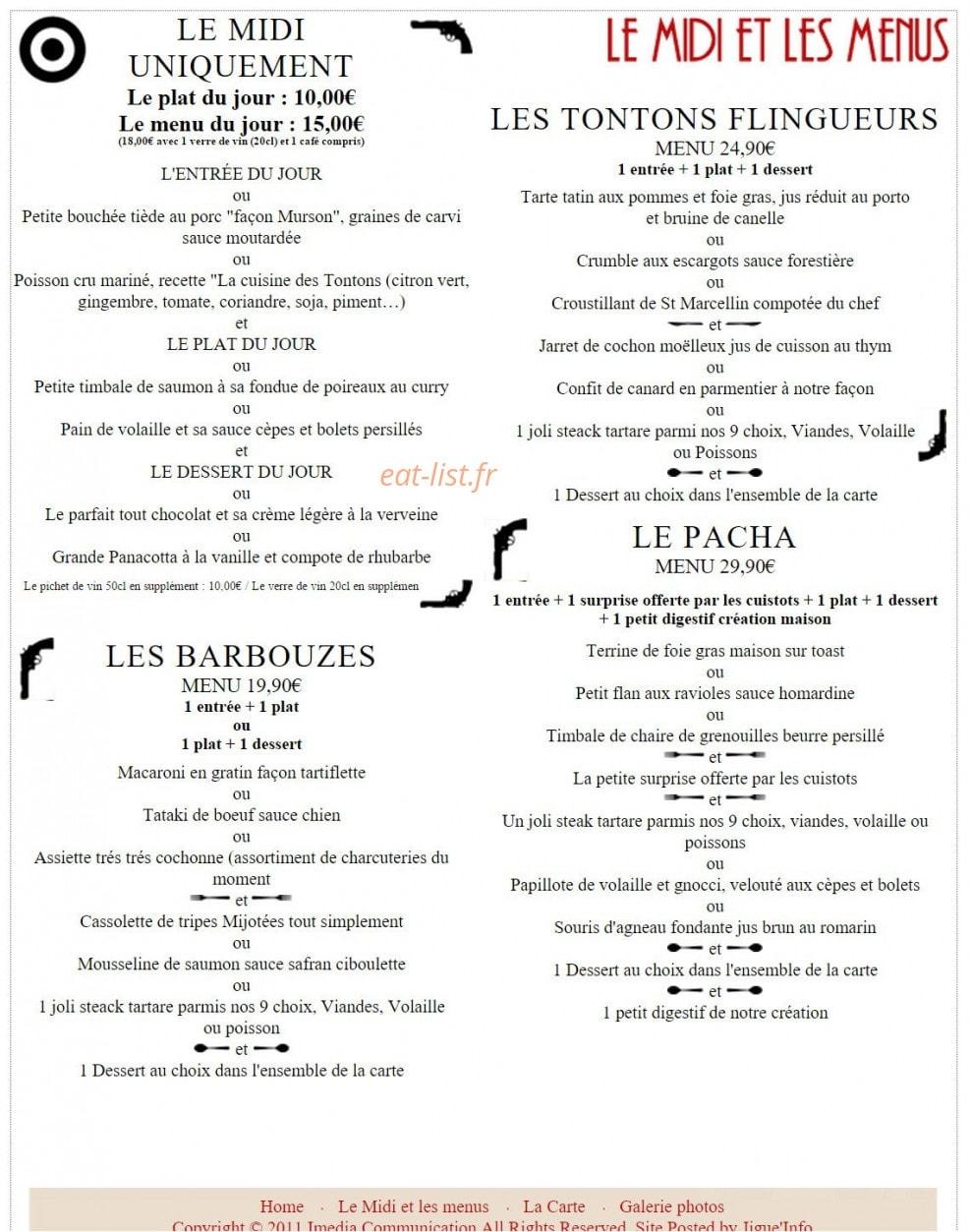 La Cuisine Des Tontons A Grenoble Carte Menu Et Photos