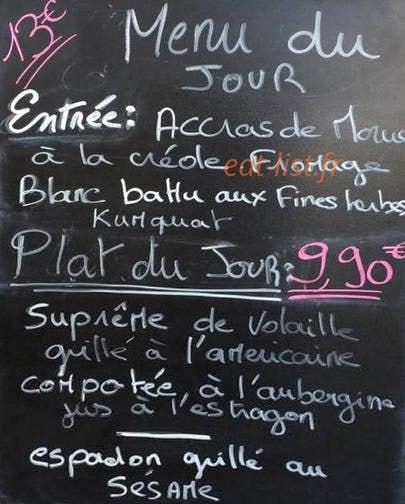 Cuisine En Ville A Villeurbanne Carte Menu Et Photos