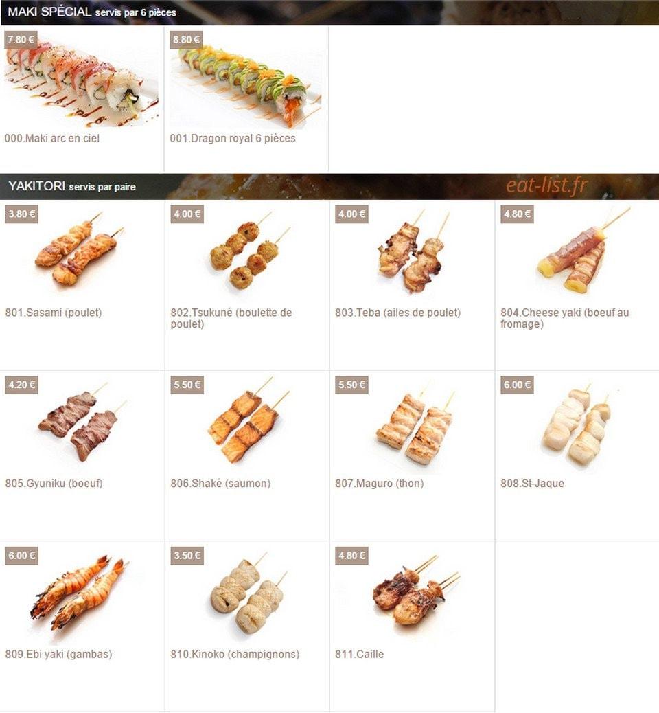 Le Rendez Vous Enchanté Le Chesnay pretty sushi à le chesnay, carte-menu et photos