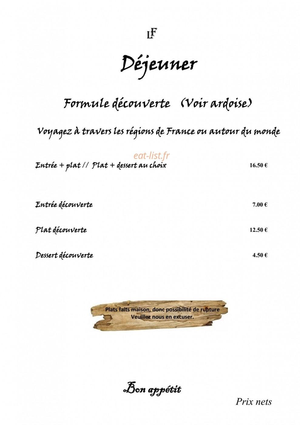 Les Tables De La Fontaine A Toulon Carte Menu Et Photos