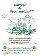 Menu Auberge du Point Sublime - Carte et menu Auberge du Point Sublime Rougon