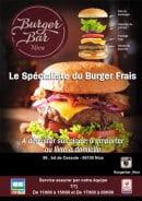 Menu Burger bar - Carte et menu Burgerbar Nice