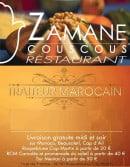 Menu Restaurant Zamane Couscous - carte et menu Restaurant Zamane CouscousRoquebrune Cap Martin