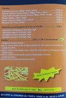 Menu Le CH9 - Viandes, omelettes et salades