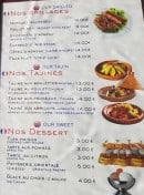 Menu Le Veritable Couscous Berbere - les grillades et tajines, desserts