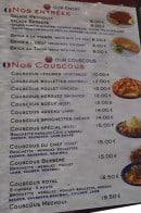 Menu Le Veritable Couscous Berbere - les entrées et couscous