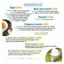 Menu Taste - Les sandwiches et salades