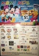 Menu Tacos Burger City - Menus kids, desserts, boissons,...