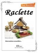 Menu L'Astoria - Raclette