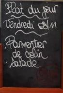 Menu Le P'tit Bourges - Un exemple de plat du jour