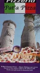 Menu Pat a Pizza - Carte et menu Pat a Pizza Mehun sur Yevre
