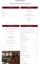 Menu L'oustal - Les menus et plats
