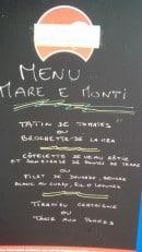 Menu U Caspiu - Exemple de menu