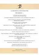 Menu Le benaton - La carte et menu du restaurant