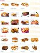 Menu Holly's diner - Les baguettes, viandes,...