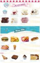 Menu Holly's diner - Les glaces et menus enfant